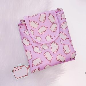 NWT Pusheen Box Exclusive Drawstring Pouch w Flap
